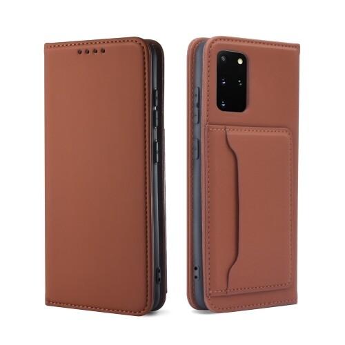 Samsung Galaxy S21 Wallet Schützhülle Brown