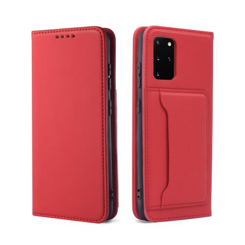 Samsung Galaxy S21 Wallet Schutzhülle Rot