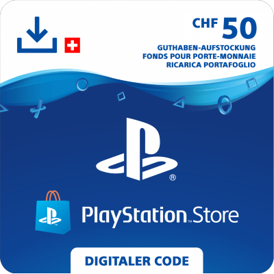 PlayStation Store Card 50 CHF