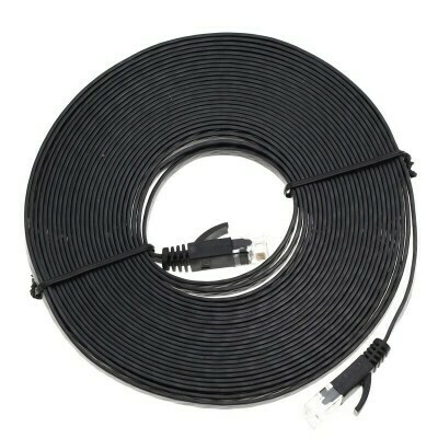 CAT6 Flat-Ethernet-Kabel RJ45 Lan-Kabel 30M
