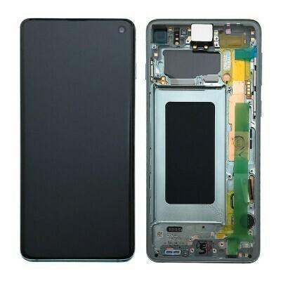 Samsung Galaxy S10 LCD-Display Prism Grün