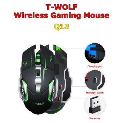 T-Wolf Q13 Kabellose Gaming Maus