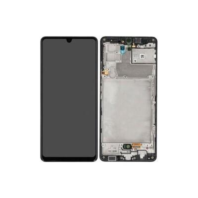 Display LCD mit Rahmen für Samsung Galaxy A42 5G