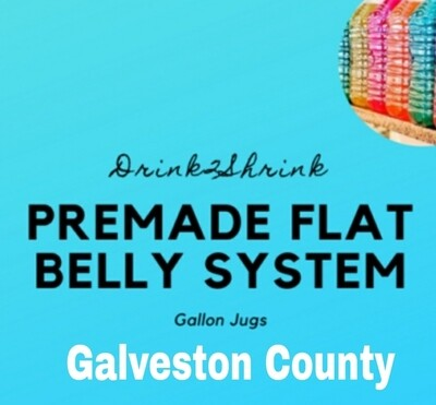 1 Gallon Pre-made Flat Belly System LOCAL ONLY