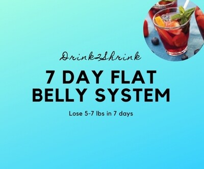 7 Day Flat Belly System