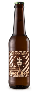 Green Man Root Beer (Non-Alcoholic)