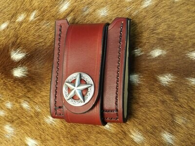 Locked And Loaded Leather Wallet