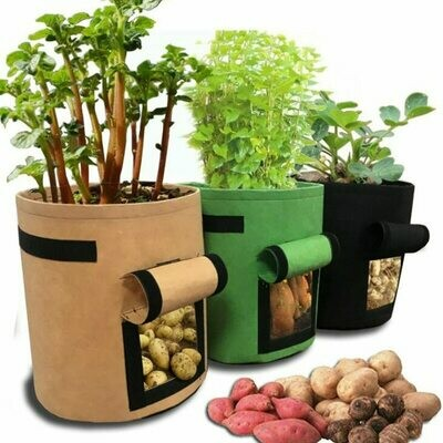 3 size Plant Grow Bags home garden