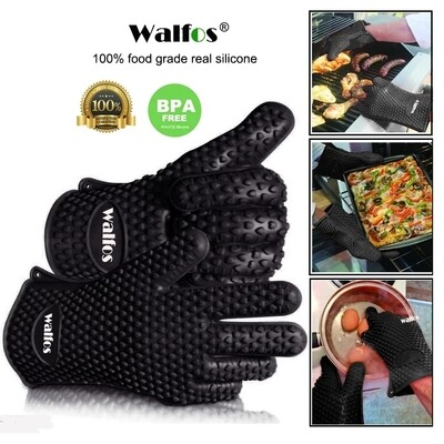 Food Grade Heat Resistant Silicone Kitchen Barbecue Oven glove