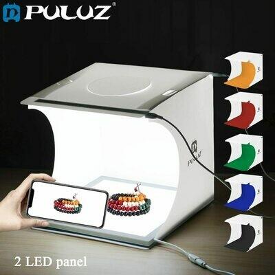 PULUZ 8.7 inch Portable Photo Studio Lightbox