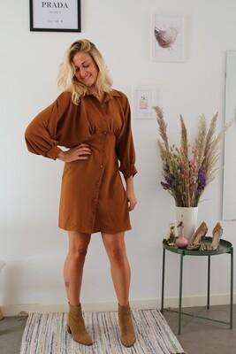 Camille dress ~ camel