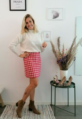 Tiffany skirt ~ red