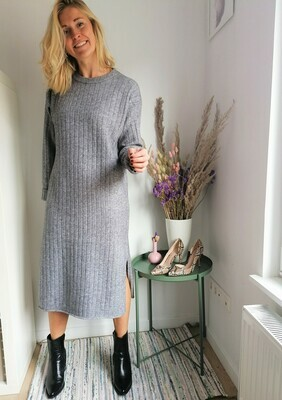 Velika dress ~ grey