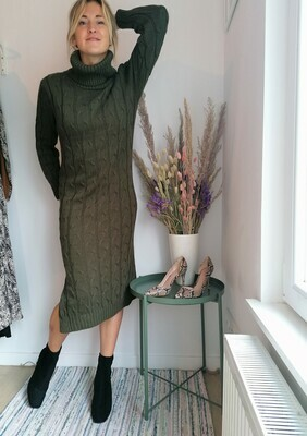 Michele dress ~ khaki
