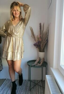 Rachel dress ~ gold