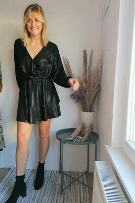 Rachel dress ~ black