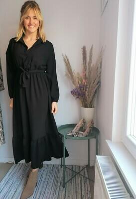 Flore dress ~ black