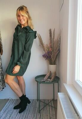 Tina dress ~ green