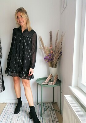 Amélie dress ~ black