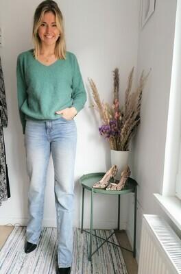 Elisa pull ~ soft green