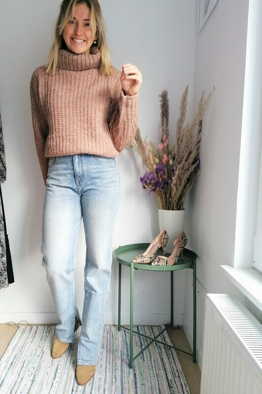 Flora sweater ~ brown