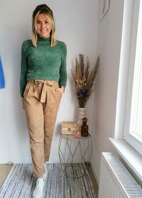 Bella sweater ~ green
