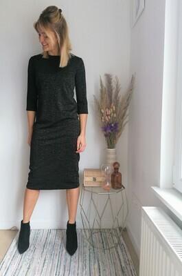 Zora dress ~ black