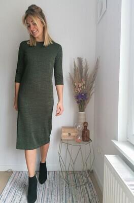 Zora dress ~ khaki