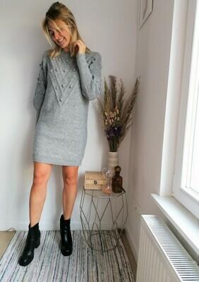 Jade dress ~ grey