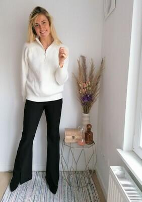 Debby sweater ~ white