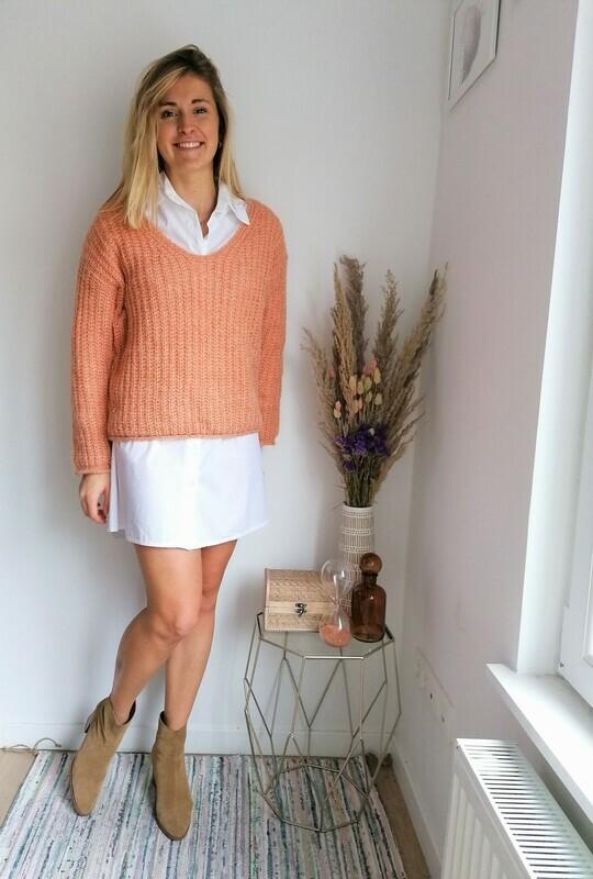 Laurence sweater ~ orange