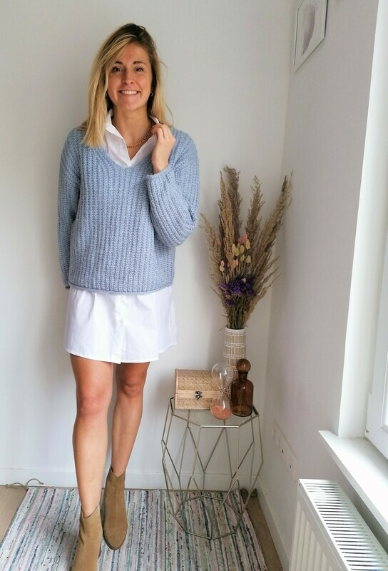 Laurence sweater ~ blue