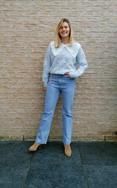 Lori sweater ~ blue