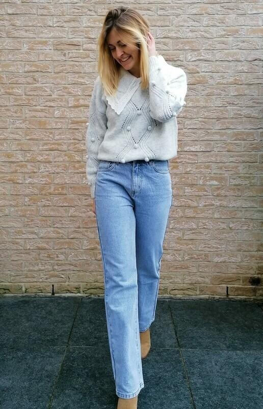 Lori sweater ~ grey