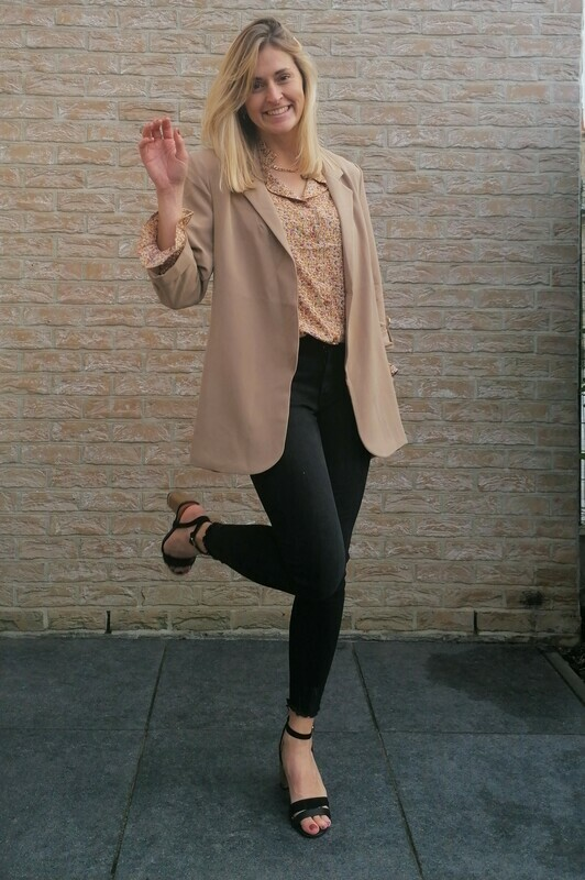 Classy blazer ~ taupe
