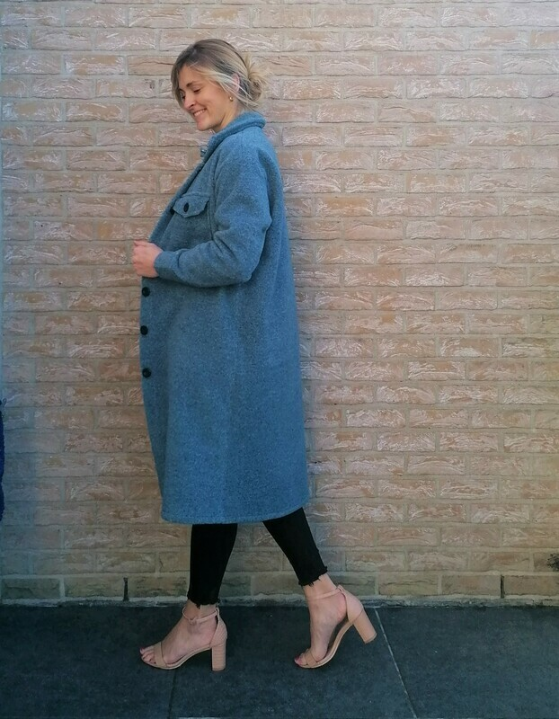 Alice coat ~ blue