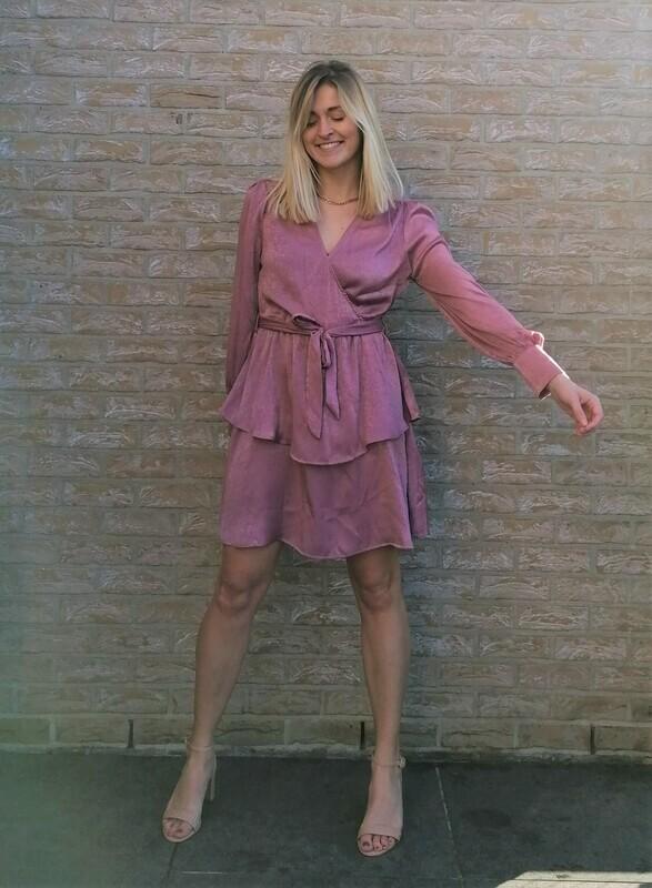 Odette dress ~ pink