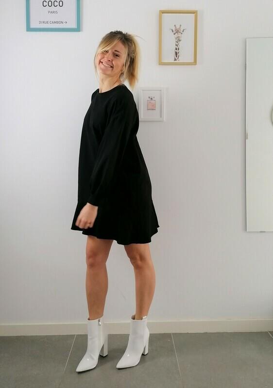 Luna dress ~ black