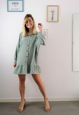 Mila dress ~ green
