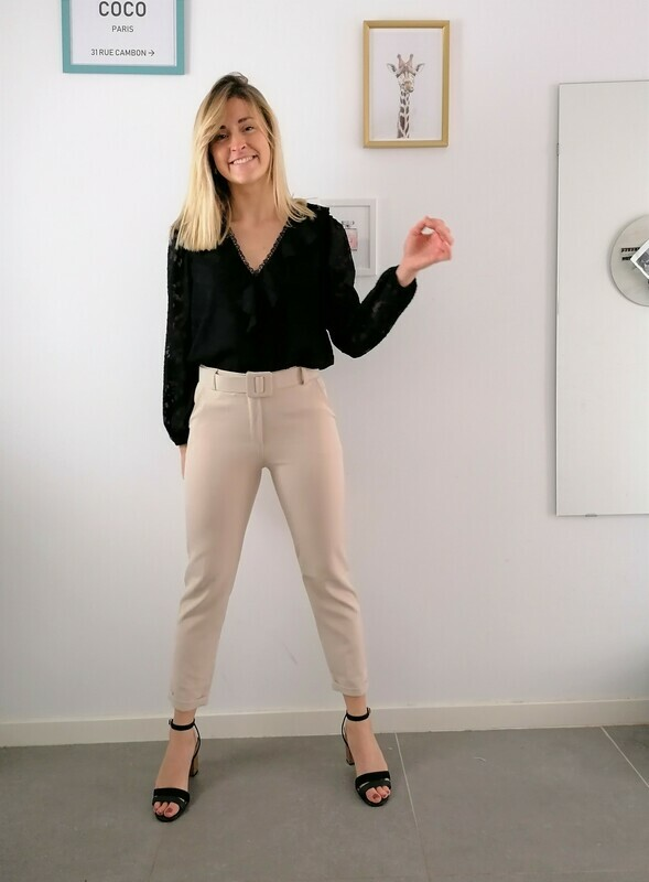 Lizzy pants ~ beige