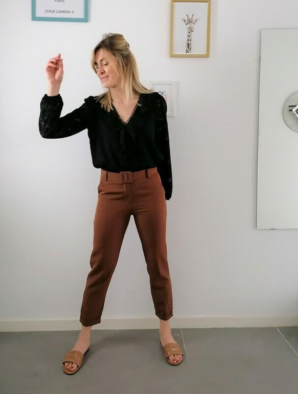 Lizzy pants ~ terracotta