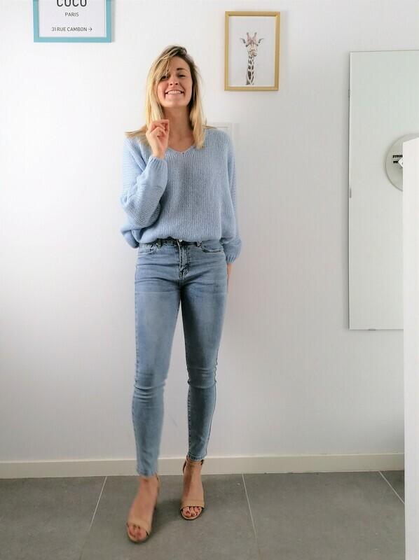 Bab sweater ~ blue