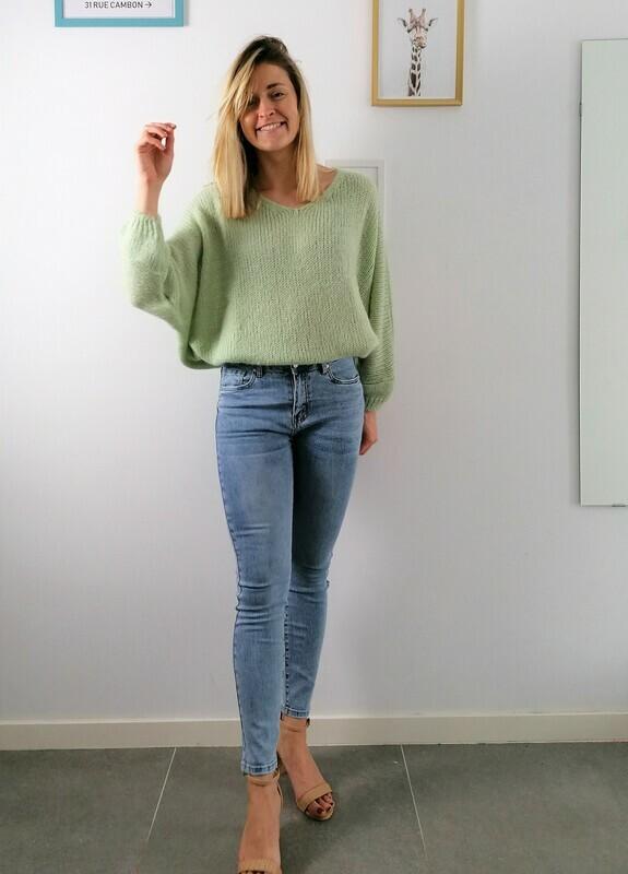 Bab sweater ~ green