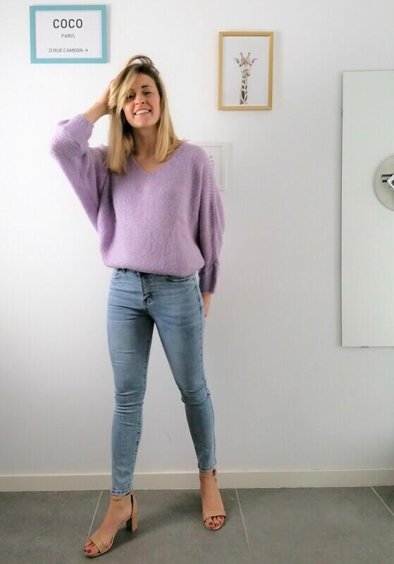 Bab sweater ~ lilac