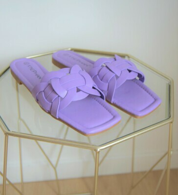 Slippers lilac
