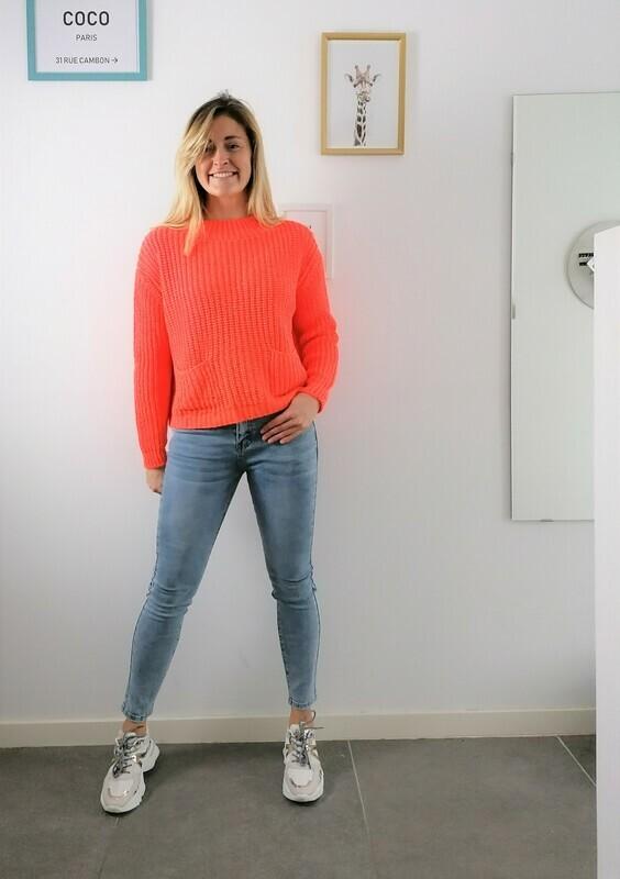 Romy sweater ~ orange