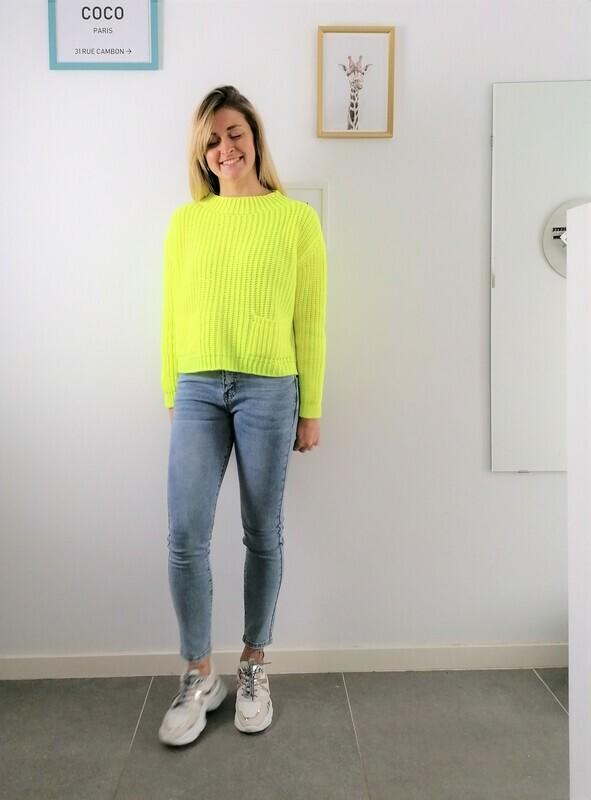Romy sweater ~ yellow