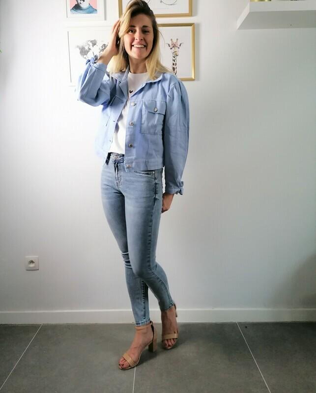 Elien jacket ~ blue