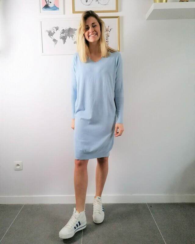 Lola dress ~ light blue