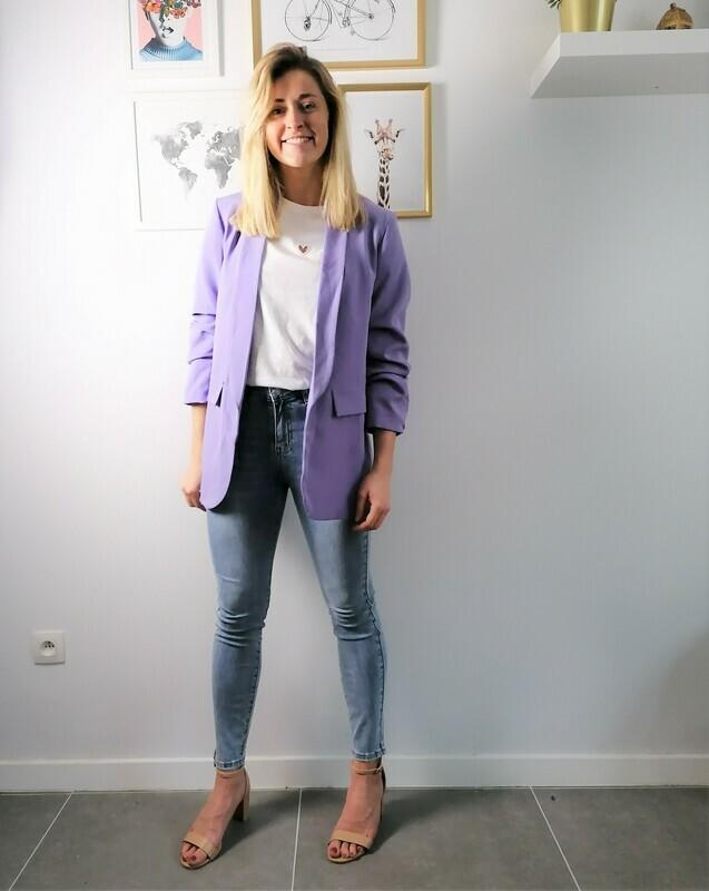 Classy blazer ~ lilac